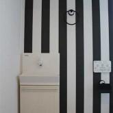 注文住宅 かっこいい工務店 宮城 輸入住宅 富樫工業 施行例14 オリジナルスタイル トイレ