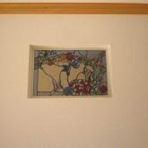 注文住宅 かっこいい工務店 宮城 輸入住宅 富樫工業 施工例16 南仏スタイル ステンドグラス 飾り