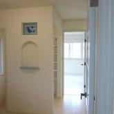 注文住宅 かっこいい工務店 宮城県 輸入住宅 施工例17 北米スタイル 玄関ホール