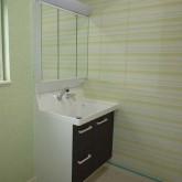 注文住宅 かっこいい工務店 宮城県 輸入住宅 施工例17 北米スタイル サニタリールーム 洗面台