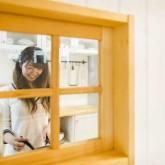 注文住宅 かっこいい工務店 熊本 ブレス ブレスホーム 施行例 プロヴァンス キッチン 内窓 21l