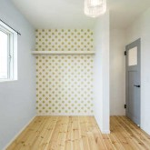 注文住宅 かっこいい工務店 熊本 ブレス ブレスホーム 施行例 プロヴァンス 寝室 ウォーキングクローゼット 21o