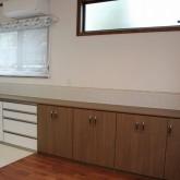 注文住宅 かっこいい工務店 宮城 富樫工業 施工例 26 ナチュラルモダン キッチン 背面収納