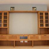 注文住宅 かっこいい工務店 宮城 富樫工業 施行例 30 オリジナルスタイル テレビボード 絵画スペース