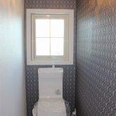 注文住宅 かっこいい工務店 宮城 富樫工業 施工例 36 ブリック トイレ