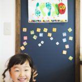 注文住宅 かっこいい工務店 熊本 ブレス ブレスホーム 施行例24 プロヴァンス 子ども部屋 自然健康塗料 チョークボード