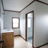 注文住宅 かっこいい工務店 静岡 輸入住宅 施工例11 コッツウォルズ サニタリースペース 造作洗面