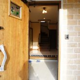 注文住宅 かっこいい工務店 静岡 北条建設 輸入住宅 施工例11 コッツウォルズ 玄関 エントランス
