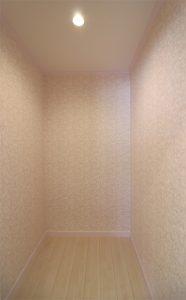 注文住宅 かっこいい工務店 宮城 輸入住宅 トガシホーム ロマンティック プリンセススタイル Anne アン 納戸 収納スペース
