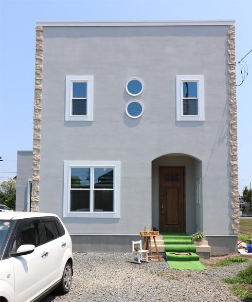 注文住宅 かっこいい工務店 栃木 イエプラン建築事務所 施工例12 ニューヨークスタイル ニューヨーカー ブリック
