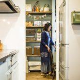 注文住宅 かっこいい工務店 熊本 ブレス ブレスホーム 施行例25 プロヴァン キッチン パントリー 収納スペース