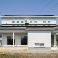 注文住宅 かっこいい工務店 熊本 ブレス ブレスホーム 施工例 26 ゼロエネルギー住宅 シンプルモダン カフェスタイル 外観