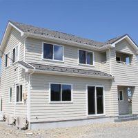 注文住宅 かっこいい工務店 宮城 富樫工業 施工例42 北米 アメリカンスタイル 外観 ラップサイディング
