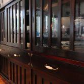 注文住宅 かっこいい工務店 熊本 ブレス ブレスホーム 施工例27 和風建築 平屋 キッチン&ダイニング アイランドキッチン キッチンキャビネット
