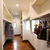 注文住宅 かっこいい工務店 熊本 ブレス ブレスホーム 施工例27 和風建築 平屋 ウォーキングクローゼット