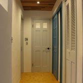 注文住宅 かっこいい工務店 山形 福井建設 オープンハウス 山形市桜田西 ナチュラルハウス 2階ホール