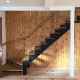 注文住宅 かっこいい工務店 山形 福井建設 自由設計 オープンハウス 山形市みはらしの丘 2017.1118 階段