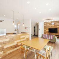 注文住宅 かっこいい工務店 岡山 アイム・コラボレーション 施工例10 開放感のある家 リビング&ダイニング