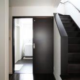 注文住宅 かっこいい工務店 岡山 アイム・コラボレーション アイムの家 施工例5 階段ホールが家の中心で回遊できる動線 階段ホール