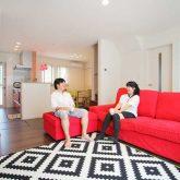 注文住宅 かっこいい工務店 岡山 アイム・コラボレーション アイムの家 施工例6 家族のコミュニケーションも個々の趣味も大切にした家 リビング
