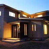 注文住宅 かっこいい工務店 岡山 アイム・コラボレーション アイムの家 施工例7 収納が豊富、動線に配慮した家 外観