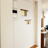 注文住宅 かっこいい工務店 岡山 アイム・コラボレーション アイムの家 施工例9 ゼロエネルギー住宅 zeh マグネット下地の壁