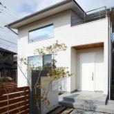 注文住宅 かっこいい工務店 岡山 アイム・コラボレーション アイムの家 施工例9 ゼロエネルギー住宅 zeh 外観