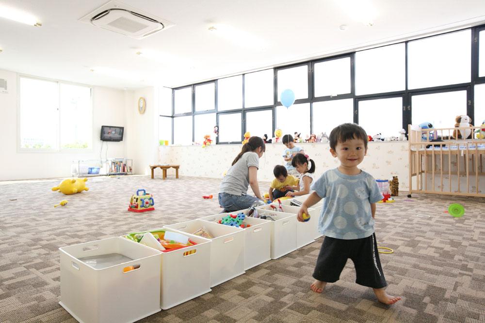 注文住宅 かっこいい工務店 岡山 アイム・コラボレーション アイムの家 ショールーム キッズルーム