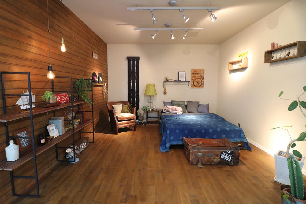 注文住宅 かっこいい工務店 岡山 アイム・コラボレーション アイムの家 ショールーム Vintage American ヴィンテージ アメリカン