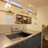 注文住宅 かっこいい工務店 岡山 アイム・コラボレーション アイムの家 施工例11 猫と共生する2階リビングの家 キッチン
