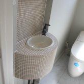 注文住宅 かっこいい工務店 宮城 富樫工業 トガシホーム プロヴァンス トイレ 造作 手洗い