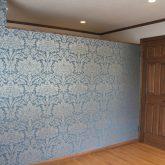 注文住宅 かっこいい工務店 宮城 富樫工業 トガシホーム プロヴァンス 2階 寝室 デザイン 壁紙