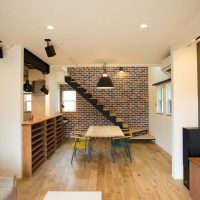 注文住宅 かっこいい工務店 福井建設の家 施工例12 南仏スタイル インダストリアルな大人の寛ぎ空間