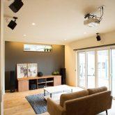 注文住宅 かっこいい工務店 福井建設の家 施工例12 オリジナルスタイル インダストリアルな大人の寛ぎ空間 リビング
