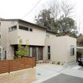 注文住宅 かっこいい工務店 岡山 アイム・コラボレーション アイムの家 施工例14 プライベートな裏庭のあるリビング、 コーディネーターと一緒につくる家 外観