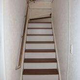 注文住宅 かっこいい工務店 宮城 富樫工業 輸入住宅 施工例52 チューダースタイル 階段