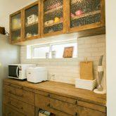 注文住宅 かっこいい工務店 熊本 ブレス ブレスホーム 施工例 28 ゼロエネルギー住宅 耐震等級3 シンプルモダン 木の温もりとインダストリアル融合 キッチン カップボード