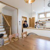 注文住宅 かっこいい工務店 福岡 不動産プラザ モデルハウス ガーデンシティ黒崎南 施工例13 プロヴァンス キッチン&ダイニング