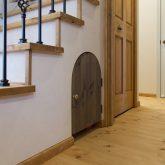 注文住宅 かっこいい工務店 福岡 不動産プラザ モデルハウス ガーデンシティ黒崎南 施工例13 プロヴァンス 階段下収納