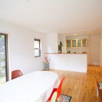 注文住宅 かっこいい工務店 鹿児島 ミューズ建築工房 施工例13 明るく可愛い家 LDK