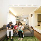 注文住宅 かっこいい工務店 岡山 アイム・コラボレーション アイムの家 施工例17 リビング