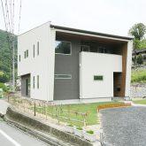 注文住宅 かっこいい工務店 岡山 アイム・コラボレーション アイムの家 施工例17 外観 モダン
