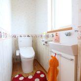 注文住宅 かっこいい工務店 鹿児島県 日置市 西郷建築 大工と創る家 施工例1 2階 トイレ