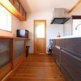 注文住宅 かっこいい工務店 鹿児島県 日置市 西郷建築 大工と創る家 施工例1 キッチン