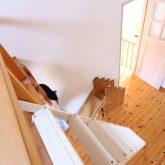 注文住宅 かっこいい工務店 鹿児島県 日置市 西郷建築 大工と創る家 施工例1 2階 子ども部屋 木製 ロフト 造作