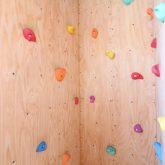 注文住宅 かっこいい工務店 鹿児島県 日置市 西郷建築 大工と創る家 施工例1 2階 子ども部屋 木製 ロフト 造作 ボルダリング