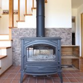 注文住宅 かっこいい工務店 鹿児島県 日置市 西郷建築 大工と創る家 施工例1 暖炉