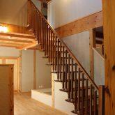 注文住宅 かっこいい工務店 宮城県 富樫工業 トガシホーム 施工例 55邸 和モダン 吹き抜け 木製階段