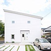注文住宅 かっこいい工務店 岡山 アイム・コラボレーション アイムの家 施工例18 瀟洒な外観 モダン