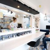 注文住宅 かっこいい工務店 岡山 アイム・コラボレーション アイムの家 施工例18 キッチン カウンター テラス 屋根